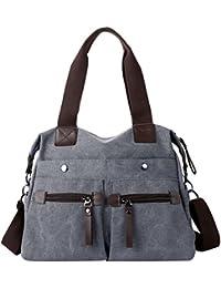 Women Canvas Hobo Handbags and Purse Shoulder Bag Cross-Body Bag Messenger Bag Travel mom bag for women