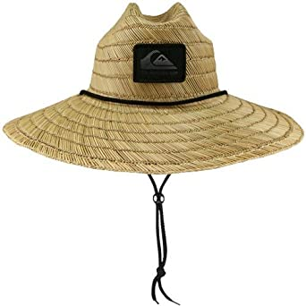 e0893fc66b8b8 Image Unavailable. Image not available for. Color  Quiksilver Cabana Khaki  Straw Lifeguard Hat
