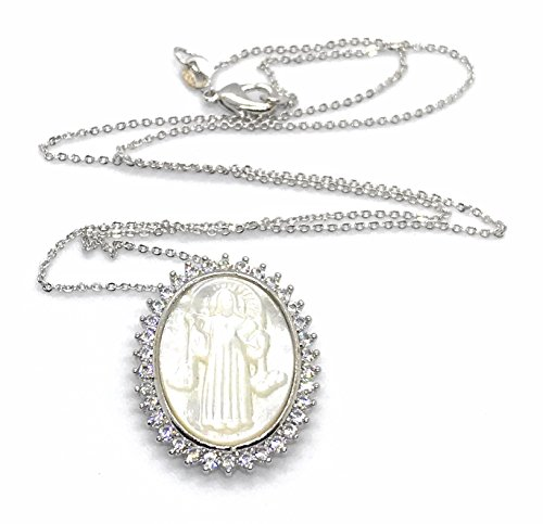 Medalla San Benito Mother Of Pearl Necklace 18
