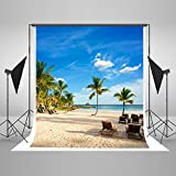 3 Pieces in Stock-Kate 10x10ft(3x3m) Tropical Rainforest Photography Backdrop for Photographers Microfiber for Parties Digital Printed Summer Beach Background