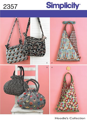 Simplicity Hoodie's Collection Pattern 2357 Women's Bags and Purses (Hoody Purse)