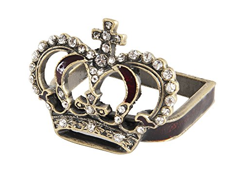 Elegant-Jeweled-Crown-Design-Napkin-Rings-Set-of-4