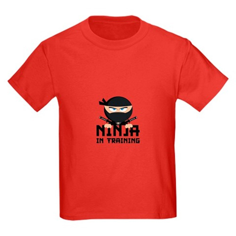 Ninja In Training CafePress Youth Kids Cotton T-shirt