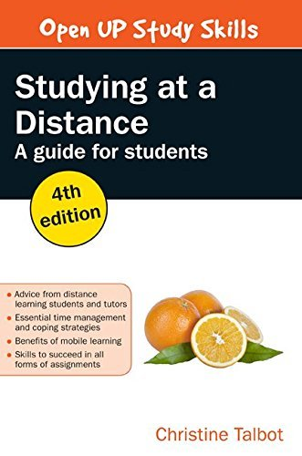 Studying At A Distance: A Guide For Students by Christine Talbot (2015-12-01)