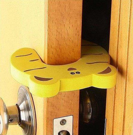 GroovyApple® 7 PCS Cushion Children Safety Finger Pinch Cartoon Animal Foam Door Stopper by GroovyApple (Image #3)