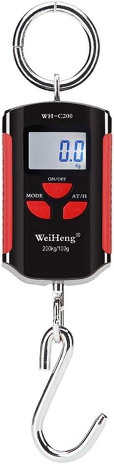 FangWWW 200 kg, incluye luz de fondo B/áscula digital para colgar