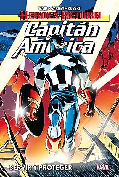 Capitán América 1. Servir y Proteger: Amazon.es: Mark Waid ...