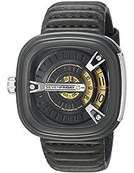SEVENFRIDAY Mens M2-1 M Series Analog Display Japanese Automatic Black Watch