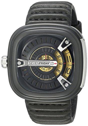SEVENFRIDAY Men's M2-1 M Series Analog Display Japanese Automatic Black Watch