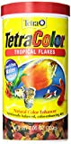 Tetra 16162 TetraColor Tropical Flakes, 7.06-Ounce, 1-Liter