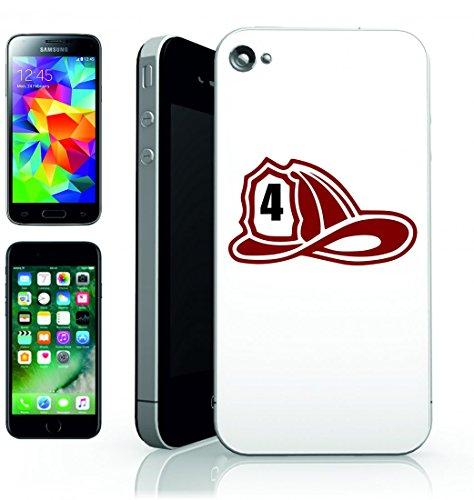 Smartphone Case vigile del fuoco del casco del cappello dell uomo di vigili del fuoco per APPLE IPHONE 4/4S, 5/5S, 5C, 6/6S, 7& Samsung Galaxy S4, S5, S6, S6Edge, S7, S7Edge Huawei HTC–Divert