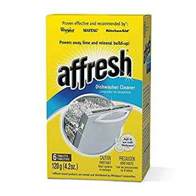 Affresh W10549851 Dishwasher Cleaner with 6 Tablets in Carton