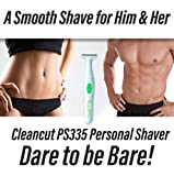 Cleancut T-Shape Personal Shaver For Men and Women- Cleancut PS335...