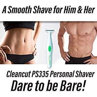 Cleancut T-Shape Personal Shaver For Men and Women- Cleancut PS335 Personal Trimmer Designed for all Your Intimate Areas (B00141DEAC) | Amazon price tracker / tracking, Amazon price history charts, Amazon price watches, Amazon price drop alerts