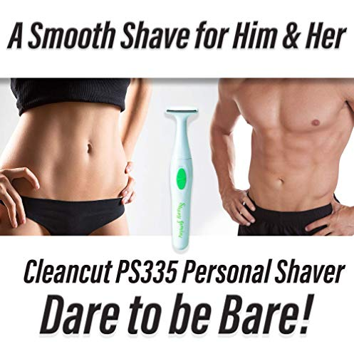 Cleancut T-Shape Personal Shaver For Men and Women- Cleancut PS335 Personal Trimmer Designed for all Your Intimate Areas