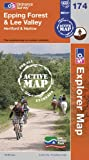 Epping Forest & Lee Valley (OS Explorer Map Active)