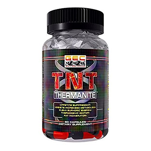 GEC TNT-THERMANITE FAT BURNER,THERMOGENIC, APPETITE SUPPRESSANT ()