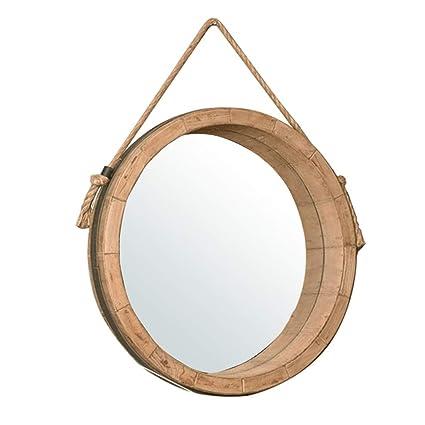 Specchi Decorati Per Bagno.Specchi Per Radersi Nordic Makeup Specchio Rotondo Specchio Da Bagno