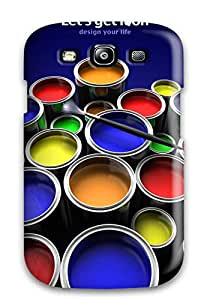 Best 9433929K76753970 Color Paints Feeling Galaxy S3 On Your Style Birthday Gift Cover Case