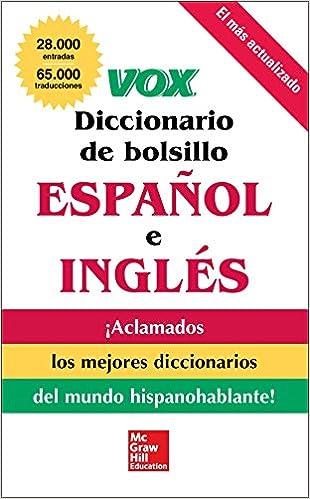 Onko laillista ladata e-kirjoja ilmaiseksi VOX Diccionario de bolsillo español y inglés PDF PDB 0071780866