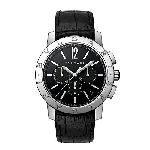 Bulgari negro 102043 – Reloj para hombres