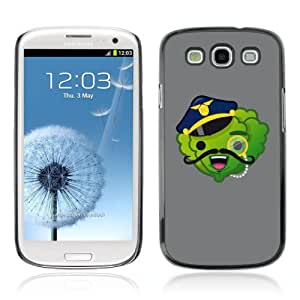 Designer Depo Hard Protection Case for Samsung Galaxy S3 / Vegetable Police