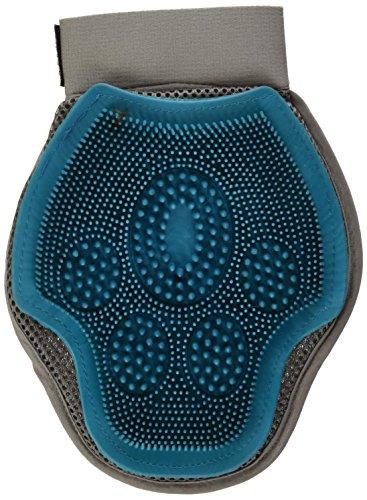 Petmate 89801 Furbuster 3-in-1 Dog Grooming Glove, Teal