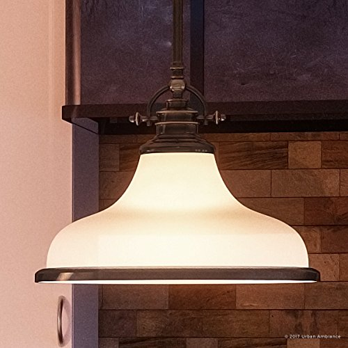 Luxury Industrial Pendant Light, Medium Size: 11.5