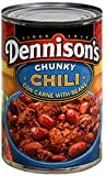 chili canned - Dennison's, Chunky Chili Con Carne With Beans, 15oz Can (Pack of 6)