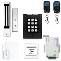 iMeshbean 2016 Latest RFID Door Access Control System Kit +280KG Magnetic Lock +Remote Control
