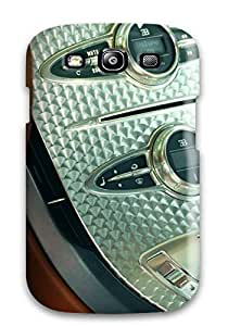 High Impact Dirt/shock Proof Case Cover For Galaxy S3 (bugatti Image)