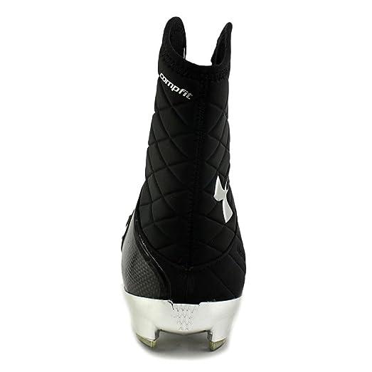 Amazon.com: Under Armour Team Cam HL MC NFL Men US 14 Black Cleats: Shoes