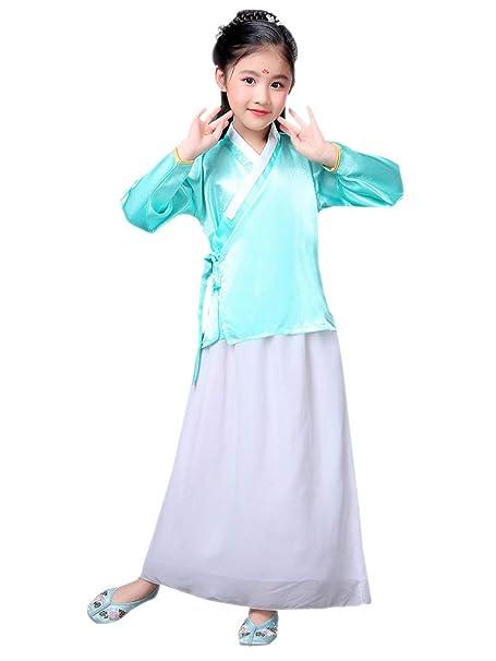 BOZEVON Hanfu - Tradición China Disfraz de Princesa Vestido ...
