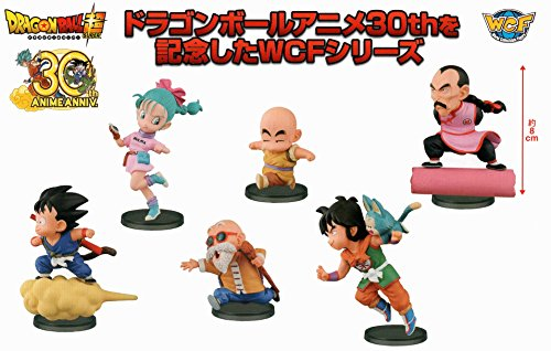 DRAGON-BALL-SUPER-World-collectable-figure-ANIME-30th-ANNIVERSARY-vol1-set-of-6