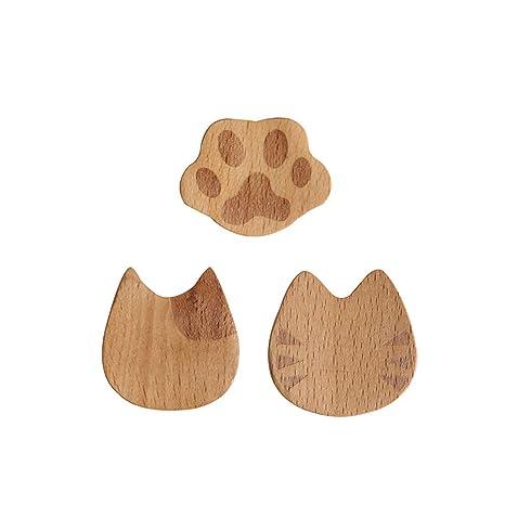 Soporte de palillos de madera UPKOCH, soporte para cuchara ...