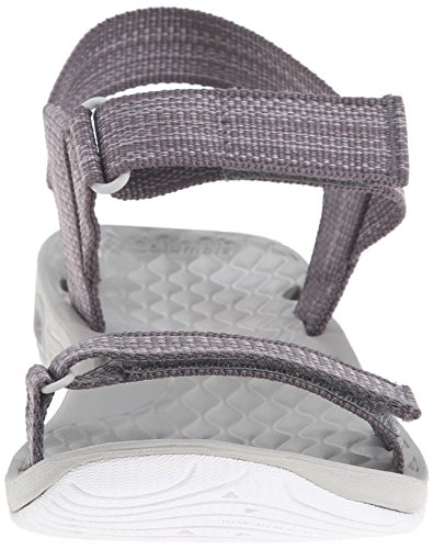 Columbia Women's Sunbreeze Vent Avalon Strap Sandal, Quarry/Cool Grey, 8 B US