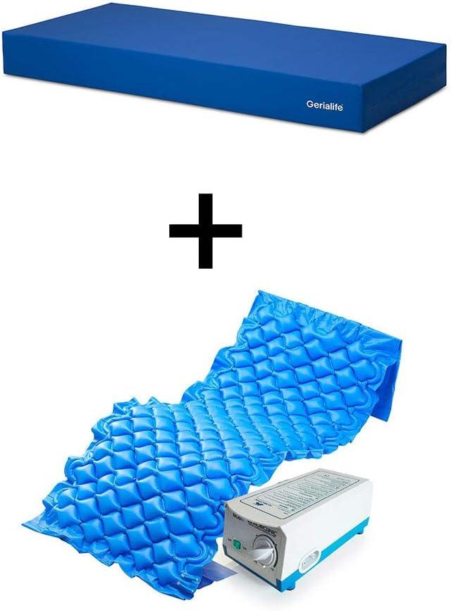 kit antiescaras colchón sobrecolchón