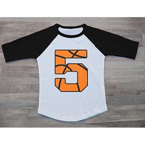 Tstars 2 Year Old Birthday Gift Basketball Fan 3//4 Sleeve Baseball Jersey Toddler Shirt