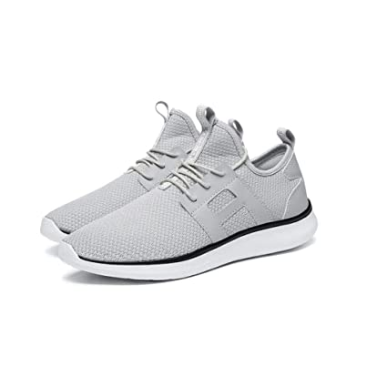 6b2320be18 Amazon.com  zxcvb Mens Outdoor Sport Walking Shoes Lightweight Mesh Wide  Sneakers Trail Running Shoes (Color   White