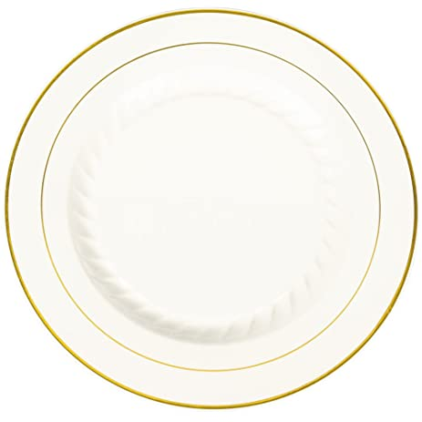 Fineline Silver Splendor 509-BO 9\u0026quot; Bone / Ivory Plastic Plate with Gold Bands  sc 1 st  Amazon.com & Amazon.com | Fineline Silver Splendor 509-BO 9"|463|463|?|9b0db548ea9f6ca43e63ed2c1acc998b|False|UNLIKELY|0.3282235860824585