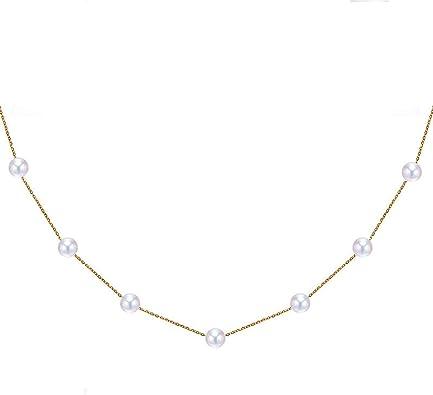 collier pour femme ronde
