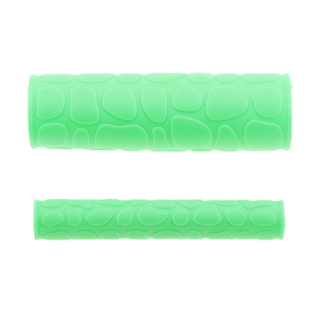 Jili Online Universal Motorcycle ATV Bikes Handlebar Handle Grips with Handle Brake Cover - Green by Jili Online (Image #4)