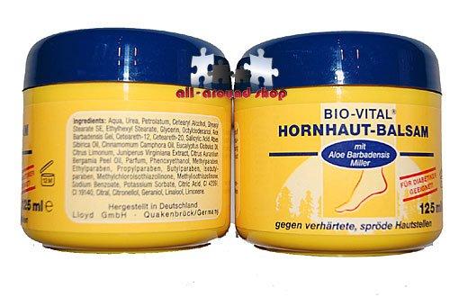 2 Dosen Hornhautbalsam Anti Hornhaut-Salbe