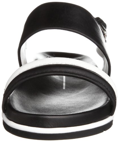 Dolce Vita Mujeres Foss Sandal Black / White Leather