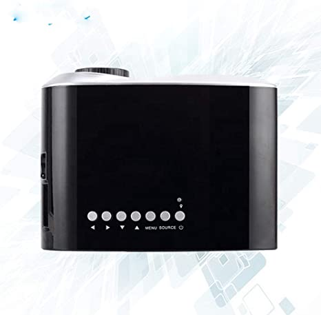 Opinión sobre QK Mini Proyector Portátil Soporta Full HD 1080P Vídeo Proyector Cine en Casa,20-100in Pantalla