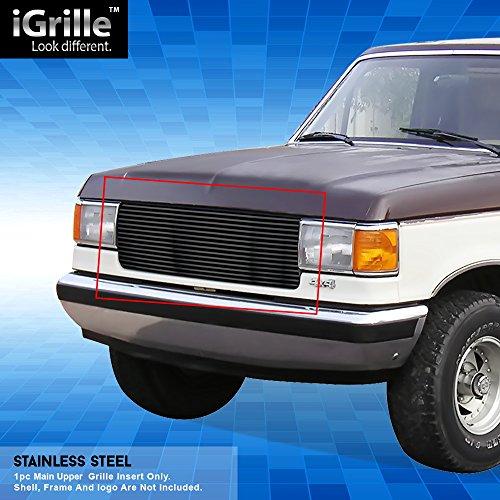 (Off Roader Black Stainless Steel eGrille Billet Grille Grill for 87-91 Ford Bronco/F-Series Pickup)