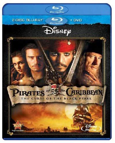 Pirates Of The Caribbean Black Pearl - Pirates of the Caribbean: The Curse of the Black Pearl [Blu-ray]