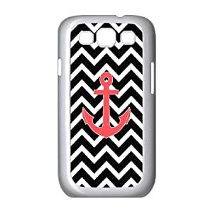 lintao diy Case Of Anchor Chevron Customized Hard Case For Samsung Galaxy S3 I9300