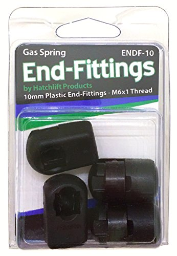 Hatchlift ENDF-10 10mm Plastic End-Fittings (End Gas Fittings Spring)