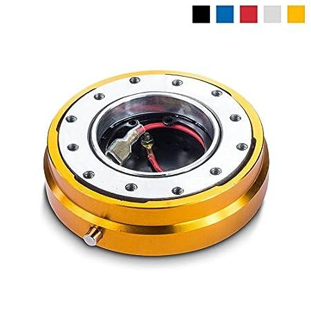 /Sport volante Quick Release para sparco Momo /Tipo Plano Snap Off Volante cierre r/ápido/ omp Sport volantes/